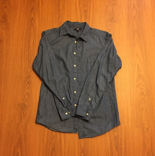 Uniplo牛仔襯衫