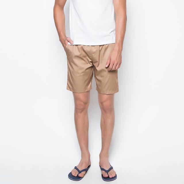 Unravel Clothing Khaki Shorts