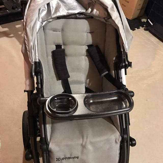 Uppababy VISTA 2012 Silver Stroller With New Frame