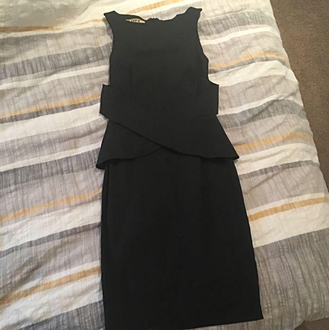 Vesper Black Tight Dress Size 8