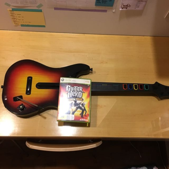 Xbox 360 Guitar Hero World Tour Bundle, Toys & Games, Video