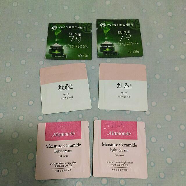YVES Rocher, Hanyul, Mamonde SAMPLE