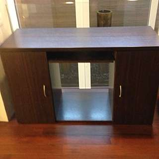 Contemporary Work/Study Table With Storage