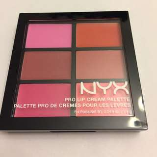 New NYX Lip Palette