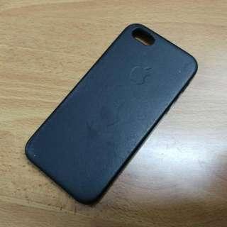iPhone 5 5s SE 原廠皮質保護套