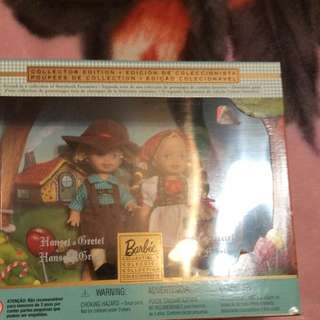 Hansel & Gretel Barbie Collectable