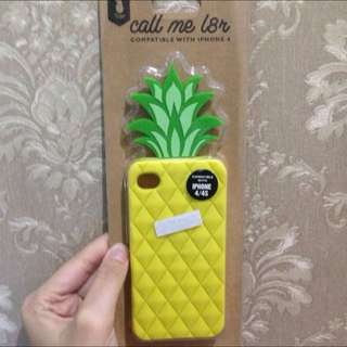 Pineapple Silicon Case Iphone 4/4s