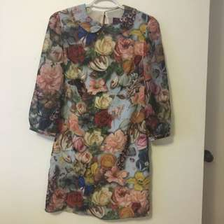 Beautiful Floral Ted Baker Dress