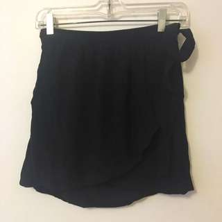 Burberry Brit Black Crepe Skirt