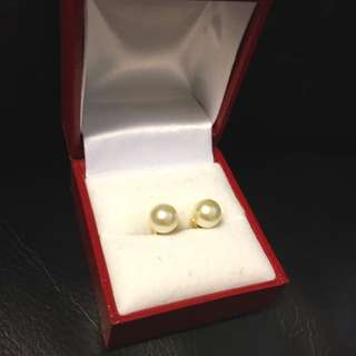 7.5 MM Genuine Akoya Pearls