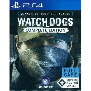 Watch Dog The Complete Edition ( Reserved )