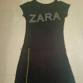 Replica Black Zara Midi Dress
