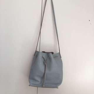 Asos Genuine Leather Bucket Bag