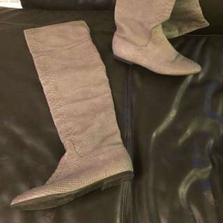 Over Knee Boots From Zara