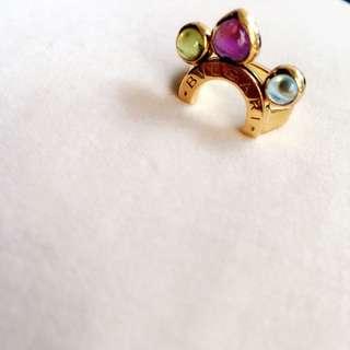 Bulgari Ring In Coloured stones