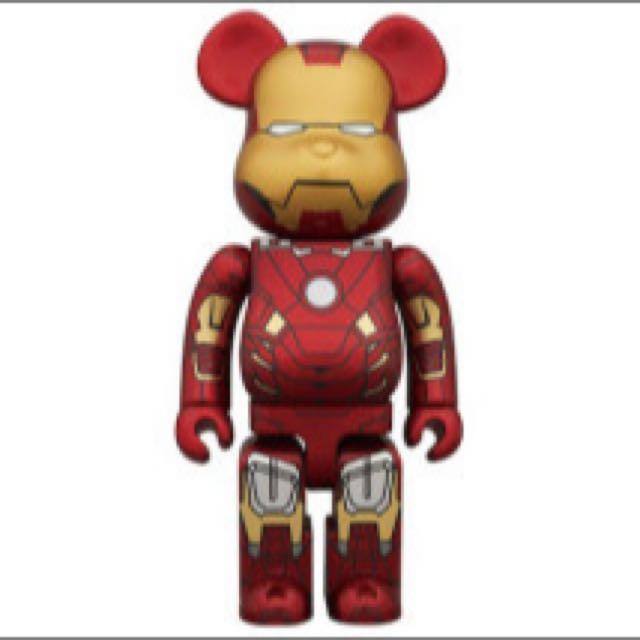 1000 Iron Man Mark 7 Bearbrick Be At Rbrick Toys Games Bricks