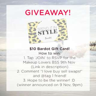 ###Closed### WIN $10 Bardot Gift Card! Join, Comment & Tag, WIN!