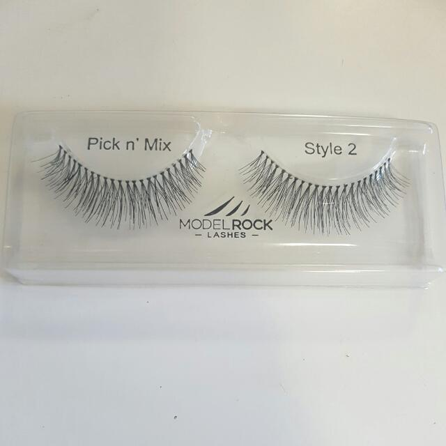 10 X Pairs Model Rock Lashes Style#2