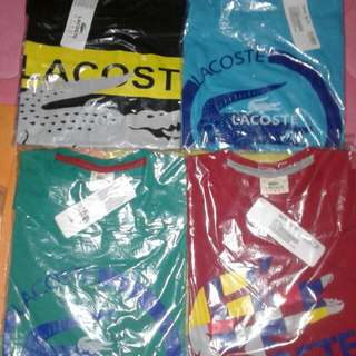 Lacoste T-shirt Autentic Overrun