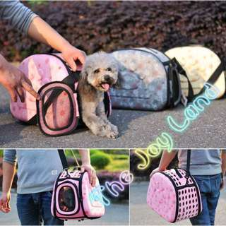 PET CARRIER Portable carry bag for small dogs/cats (Type 3)