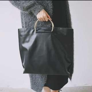 ‼️SALE‼️半圓金屬環手袋(有長帶)
