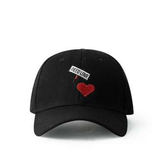 Need Love Black Curve Brim Golf Cap Hat Caps Hats with Adjustable Snapback