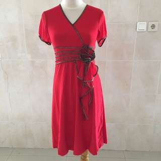 Red Dress - Body Fit
