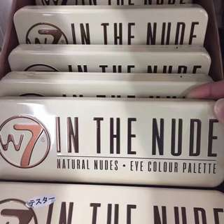 W7 in the nude 12色眼影盤