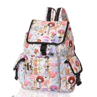 New Design - LATEST MODEL - Harajuku Doll cartoon casual backpack / School bag for teenager/adult (NEW DESIGN)