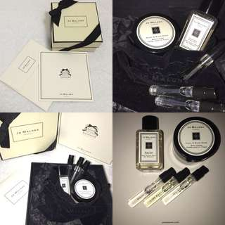 Jo Malone Gift Set (Body/Hand Wash Gel, Body Creme & Colognes