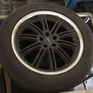 Volvo SSW Rims With Continental Tyres