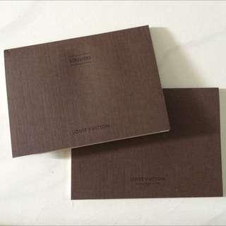 LV Louis Vuitton Shoes Booklet