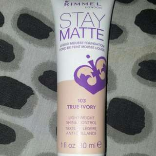 #freeshipping Rimmel Stay Matte Liquid Mousse Foundation