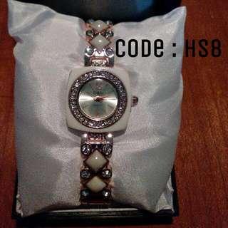 Jam Tangan Wanita D&G White Code : HS8
