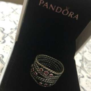 Brand New Pandora Hidden Romance Ring
