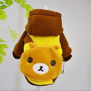 RILAKKUMA Costume for Small Breed dogs like Shih Tzu