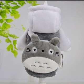 TOTORO Costume for Small Breed dogs like Shih Tzu