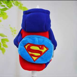 SUPERMAN Costume for Small Breed dogs like Shih Tzu New