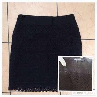 F21 Crochet Skirt
