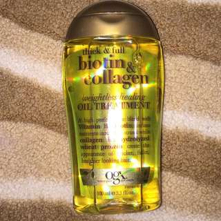 OGX Biotin And Collagen Oil Treatment 100ml