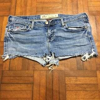 Hollister Jeans Short Bottom