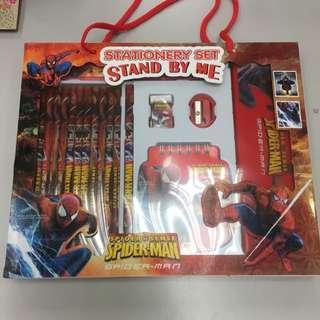 Spiderman Colored Set
