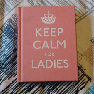 KEEP CALM FOR LADIES // English