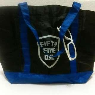 藍黑色日本雜誌袋fifty five DSL 55DSL