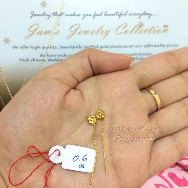 18karat Chinese gold Earrings
