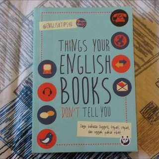 Things Your English Books Don't Tell You - @Englishtips4u