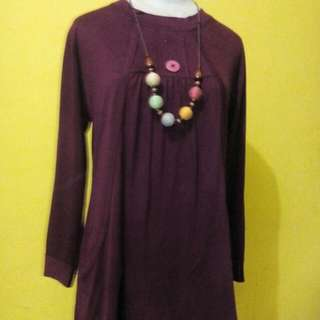 Baju Atasan Red Purple