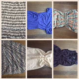 SALE!!!!REPRICED 9 PRELOVED DRESSES NOW! 100 EACH