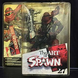 McFarlane The Art of Spawn Series 27 Issue 131 Cover Art