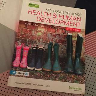 KEY CONCEPTS HEALTH & HUMAN DEVELOPMENT
